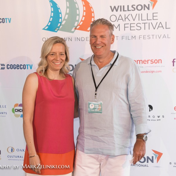 Carol and Peter Willson, President and CEO of Title Sponsor, Willson International
